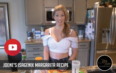 Jolene's Isagenix Margarita Recipe