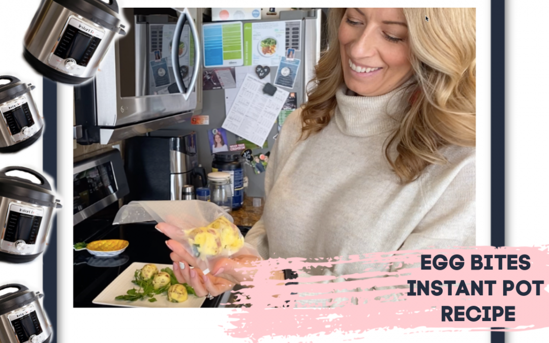 Time to take the Instant Pot out of the Pantry! Learn how to make Egg Bites